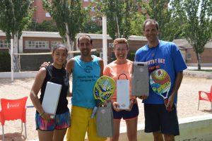 Circuito Tenis : Terminada 1ª prueba de circuito tenis playa maozayas